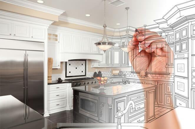 A boost to your home's value will surely inspire you to revamp your kitchen. Home improvement projects are always a good idea if you decide to put your house on the market.